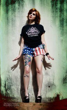 Paula Cortes Punk, Style, Fashion, Sprouts, Moda, La Mode, Fasion, Punk Rock, Fashion Models
