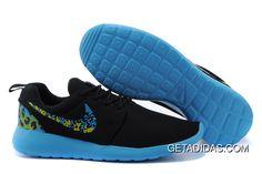35f9c19414cf2 Nike Roshe Run 2 Blue Black Yellow TopDeals