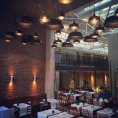 • Wedgelamp by Vroonland & Vaandrager, Hotel de Hallen, Amsterdam