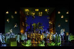 Die Meistersinger von Nürnberg at the Royal Opera House. Production by Graham Vick. Sets by Richard Hudson.