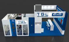 10m x 6m exhibition stand design