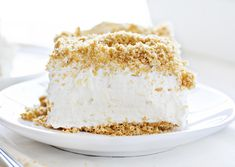 This is not your average Pineapple Dessert. It is big, loaded with pineapple flavor, and beyond light and fluffy! And it's NO BAKE! No Bake Desserts, Easy Desserts, Delicious Desserts, Dessert Recipes, Cheesecake Desserts, Rasberry Cheesecake, Keto Desserts, Dessert Ideas, Pineapple Desserts