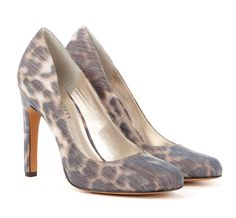City Chic || Subtle animal print. Pair it with a bold color dress for an eye catching combo.