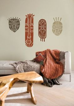 44 Beautiful African Bedroom Decor Ideas Numerous individuals living in different nations in Europe or America wind up pulled in to African-enlivened … - New Deko Sites African Interior Design, African Design, African Style, African Beauty, Ethnic Decor, Boho Decor, African Bedroom, African Furniture, Home Decoracion