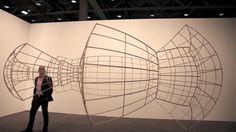 ricci albenda: open universe at art basel 2012 by designboom. the brooklyn-born artist has been showcased with his metamorphic sculpture at art basel in switzerland. Perspective Drawing, Basel, Installation Art, The Ordinary, Modern Art, Brooklyn, Universe, Sculpture, Architecture
