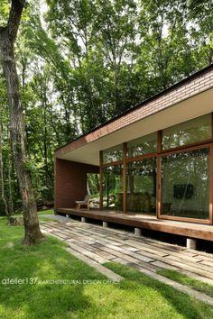 Modern Japanese Architecture, Architecture Design, Design Your Dream House, House Design, Exterior Design, Interior And Exterior, Sun House, Peaceful Home, Contemporary House Plans