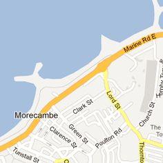 United Kingdom MAPs Pinterest Morecambe