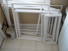 Wainscoting has a number of advantages. Firstly, it can be an excellent design decision. Whether you prefer a cottage style beadboard wainscoting or a more traditional/formal wainscoting, both can add a lot of appeal to a room. Secondly, it can. Picture Frame Wainscoting, Wainscoting Height, Beadboard Wainscoting, Wainscoting Nursery, Dining Room Wainscoting, Wainscoting Panels, Wainscoting Ideas, Picture Frame Molding, Installing Wainscoting