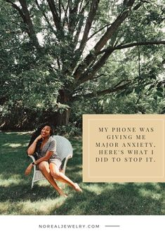 Y'all my phone was giving me MAJOR anxiety! All the ringing, buzzing   chiming was driving me completely insane. Here's how I established some digital boundaries so that I could stop my phone anxiety dead in its tracks. Click through to read more!