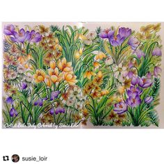 Super show!!!! By @susie_loir 🌷🍃🌷🤗 #Repost @susie_loir with @repostapp ・・・ Finished my first one from The Flower Year💛💜 #thefloweryear  #leiladuly #floribunda #arte_e_colorir #artecomoterapia #divasdasartes #colorindolivrostop #coloring #coloringforadults #coloring_secrets #coloringmasterpiece #coloriageantistress #coloringforadults #colortherapyapp #colortherapy #bayan_boyan #colouringbook #adultcoloringbook #beautifulcoloring #jardimsecreto #prismacolor  #desenhoscolorir…