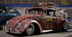 X Bros Apparel Vintage Motor T-shirts, Volkswagen Beetle & Bus T-shirts, Great price… ♠ Fancy Cars, Cool Cars, Rat Hod, Hot Rods, Vw Rat Rod, Kdf Wagen, Ferdinand Porsche, Black Betty, Vw Cars