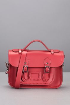Mini Satchel Berry Red  - The Cambridge Satchel Company