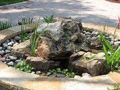 Bubbling Rock Water fountain