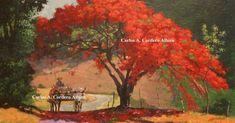 Obra de arte: El Flamboyan Artistas y arte. Artistas de la tierra