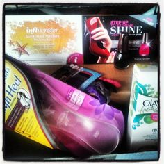 Sunkissed VoxBox from Influenster filled with goodies I get to try!