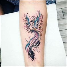 phoenix tattoo designs Phoenix Tattoo Design, Phoenix Rising, Tattoos, Watercolor Tattoo, Tattoo Designs, Bird, Collection, Ideas, Women