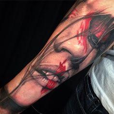 Realism Portrait Tattoo | Best tattoo design ideas