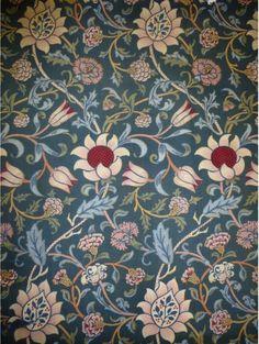 'Evenlode' furnishing fabric designed by William Morris, England, 1883