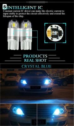 blue H-Customs Interior lighting Set 4 LED SMD for Navara D40 05-15