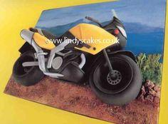 Motorbike cake by Lindy Smith