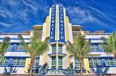 The Breakwater Hotel, Miami Beach, Florida by DigitalLUX Colors that seem the perfect embodiment of the beach.