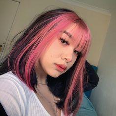 Hair Color Streaks, Hair Dye Colors, Cool Hair Color, Hair Inspo, Hair Inspiration, Dying My Hair, Cut My Hair, Aesthetic Hair, Pretty Hairstyles
