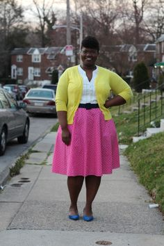 Modest, Feminine Dressing for the Plus Size Woman | Deep Roots at Home