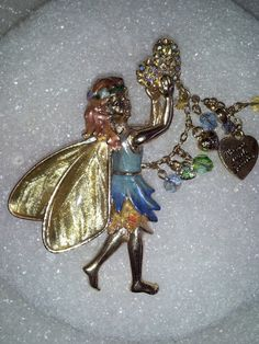 Vintage Kirks Folly Dance With The Fairy Pin Brooch by GildedLylly, $45.00