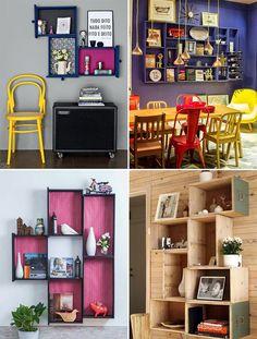 Ideias para reaproveitar gavetas na decoração - Casinha Arrumada