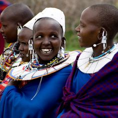 Maasai People | Maasai Villagers by William Warby in Jewellery, Maasai people on ...