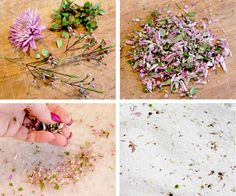 Tutorial : Make handmade paper. I've made paper many times. It's super easy. I love adding flower seeds to my paper and making tags or ornaments that people can plant in the spring <3