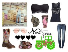 """""""#AGProud"""" by dani-warren ❤ liked on Polyvore featuring Ariat, Wrangler, H&M, Carhartt and J.Crew"""