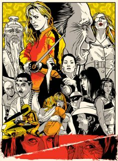 creatividads   The Coens vs Tarantino: carteles de cine con mucho arte