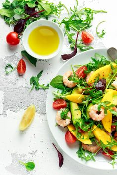 Here are recipes for salads with a Latin twist. Mexican Fruit Salads, Mexican Street Corn Salad, Beet Salad, Chickpea Salad, Mocha Frappe Recipe, Mango Salat, Cilantro Dressing, Steak Salad, Corn Salads