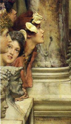 Sir Lawrence Alma-Tadema – Primavera (Spring) - 1894 - detail