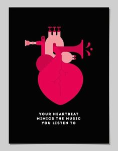 """IL CORPO UMANO """"Il tuo battito cardiaco imita la musica che stai ascoltando"""" (© 2014 Pâté)"""
