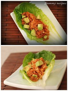 Quinoa Sprouts, Avocado, and Tomato Marinara Wraps