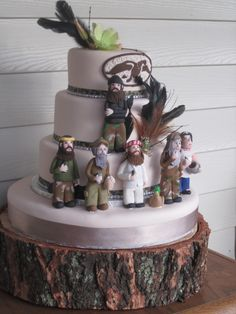 duck dynasty birthday cakes | Duck Dynasty-inspired birthday cake for Mimi, our ... | Party Ideas