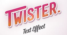 photoshop text style - Google Search