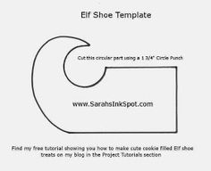 Elf Shoes with Oreos… « Sarahs Ink Spot Christmas Craft Projects, Christmas Paper Crafts, Homemade Xmas Gifts, Shoe Template, Paper Shoes, Elf Clothes, Elf Shoes, Thing 1, Cricut