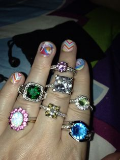 My current favorite JewelScent bling:-)