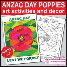 Are you looking for a colourful and creative way to commemorate Anzac Day with students in Australia, New Zealand and around the world? Use these abstract, eye catching poppy templates and posters to create stunning artworks and Anzac Day displays for the classroom.