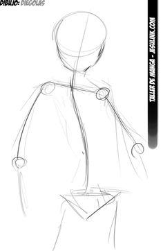 Taller de Manga. Cómo dibujar una chica Manga.                                                                                                                                                                                 Más