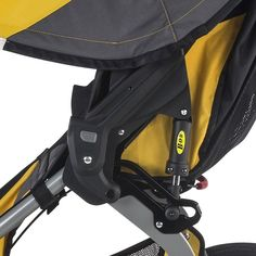 Amazon.com : BOB 2016 Ironman Duallie Jogging Stroller, Yellow : Baby Baby Doll Strollers, Best Baby Strollers, Double Strollers, Twin Pram, Best Prams, Best Lightweight Stroller, Baby Jogger City Select, Umbrella Stroller, Jogging Stroller