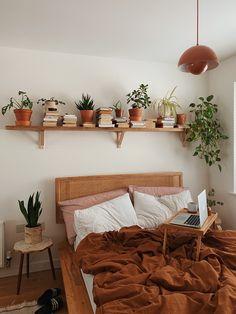 Room Ideas Bedroom, Home Bedroom, Master Bedroom, Nature Bedroom, Bedroom Inspo, Bedroom Colors, Bedroom Inspiration, Bed Room, Nature Inspired Bedroom