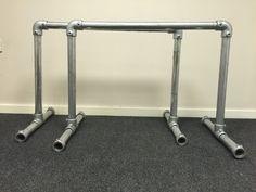 FastClamp DIY 550mm Calisthenics Bars Dip Station GymnasticParallel Bar CrossFit | eBay