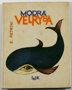 Modra velryba 1963  by Dagmar Berkova