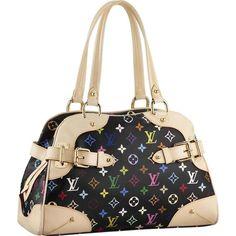 Sac Louis Vuitton M40194 Monogram Multicolore Claudia Solde 168,74€ http://www.fr-louisvuittonsacpascher.com
