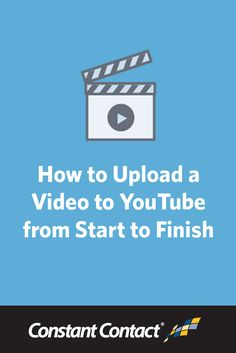 Before you can start using #YouTube to your advantage, you first need to learn the basics.This post will walk you through the steps you need to follow to upload a video to YouTube, and introduce you to some valuable features YouTube has to offer. http://blogs.constantcontact.com/product-blogs/social-media-marketing/how-to-upload-video-to-youtube/?CC=SM_PIN