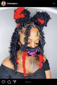 Braids Hairstyles Pictures, Faux Locs Hairstyles, Twist Braid Hairstyles, Braided Hairstyles For Black Women, African Braids Hairstyles, Baddie Hairstyles, Braids For Black Hair, Twist Braids, Hair Pictures